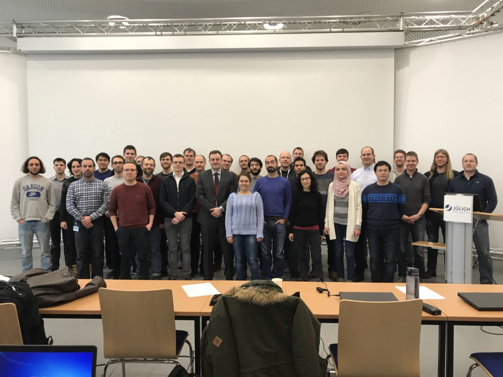Parallel and Scalable Machine Learning Tutorial Group Photo